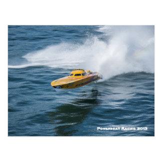 Powerboat Racing Postcard