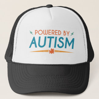 Powered By Autism Trucker Hat