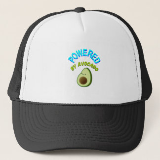 Powered By Avocado Trucker Hat