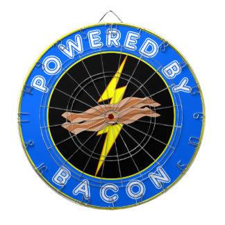 Powered By Bacon Dart Board
