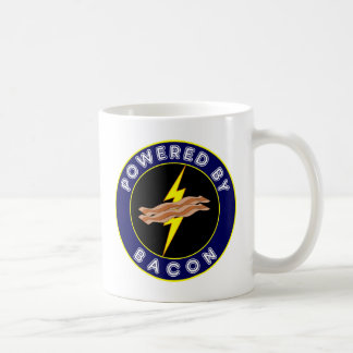 Powered By Bacon Mugs