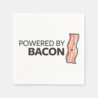 Powered by Bacon Paper Napkin