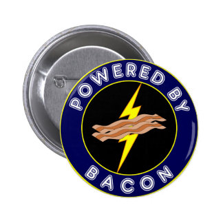 Powered By Bacon Pin