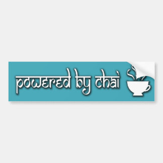 Powered by Chai Bumper Sticker