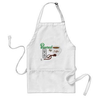 Powered By Coffee Apron