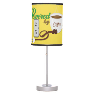 Powered by Coffee Lamp