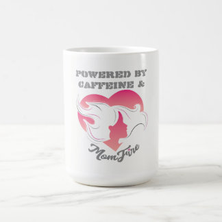Powered by Coffee & MomFire Mug