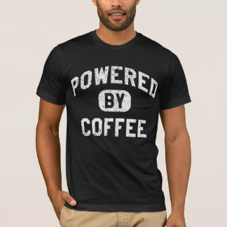 Powered By Coffee (Vintage Effect) T-Shirt