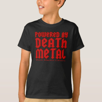 powered by Death metal T-Shirt