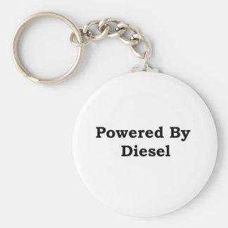 Powered By Diesel Keychain