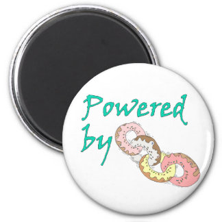 Powered By Donuts Magnet