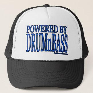 powered by DRUMnBASS Trucker Hat