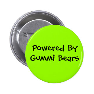 Powered By, Gummi Bears 2 Inch Round Button