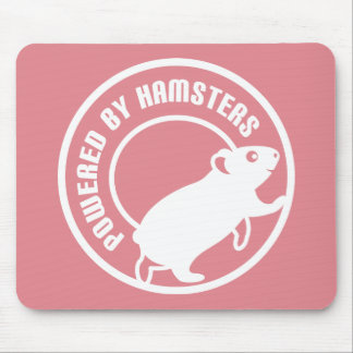 Powered by Hamsters Mouse Pad