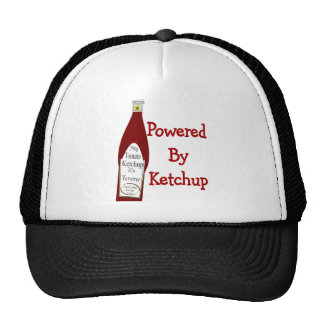 Powered By Ketchup Trucker Hat