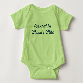 Powered by Mama's Milk Baby Bodysuit