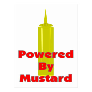 Powered by Mustard Postcard