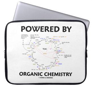 Powered By Organic Chemistry Krebs Cycle Humor Laptop Sleeve