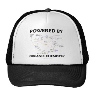 Powered By Organic Chemistry (Krebs Cycle) Trucker Hat