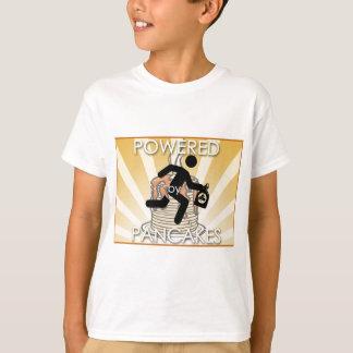 Powered by Pancakes Sunrays Logo - Hygge T-Shirt
