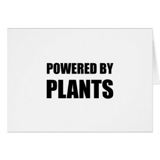 Powered By Plants Card