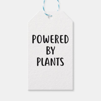 Powered By Plants Gift Tags