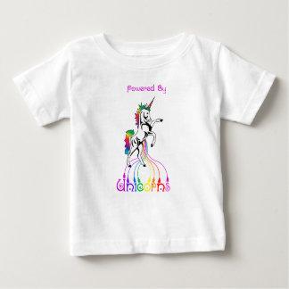 Powered by Unicorns Baby Tshirt