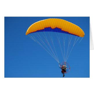 Powered Paraglider Card