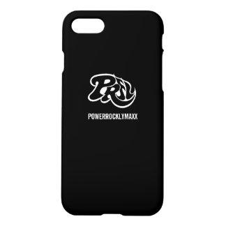 POWERFOOL Logo iPhone 7 & 7Plus case (black)