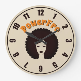 PowerFro:  Acrylic Wall Clock