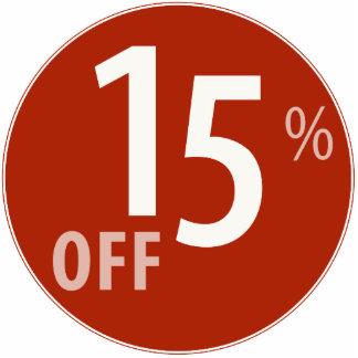Powerful 15% OFF SALE Sign - Ornament Photo Sculpture Ornament