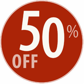 Powerful 50% OFF SALE Sign - Ornament Photo Sculpture Ornament