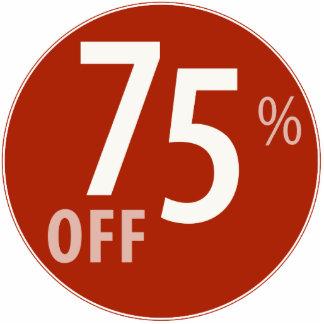 Powerful 75% OFF SALE Sign - Ornament Photo Sculpture Ornament