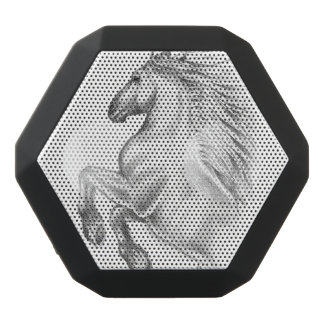 Powerful Andalusian Horse Black Bluetooth Speaker