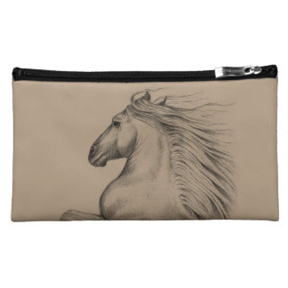 Powerful Andalusian Horse Cosmetic Bag