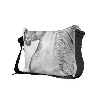 Powerful Andalusian Horse Messenger Bag