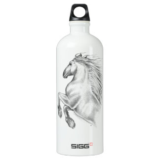 Powerful Andalusian Horse Water Bottle