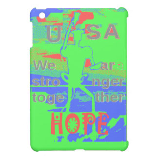 Powerful ECO USA Hillary Hope We Are Stronger Toge iPad Mini Case