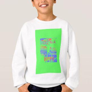 Powerful ECO USA Hillary Hope We Are Stronger Toge Sweatshirt