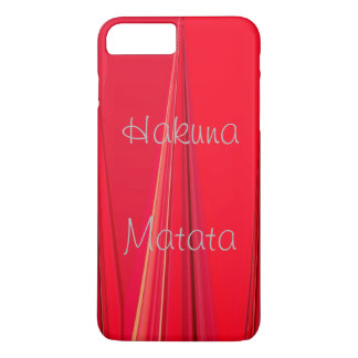 Powerful Hakuna Matata lovely Royal unique red iPhone 8 Plus/7 Plus Case