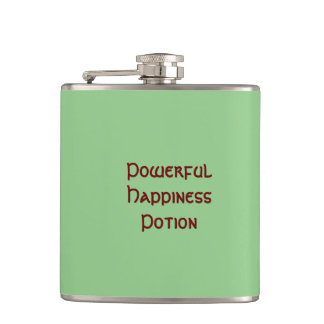 Powerful Happiness Potion Flask