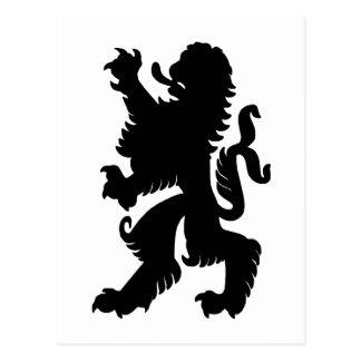 Powerful Lion Postcard