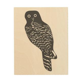 Powerful owl wall art