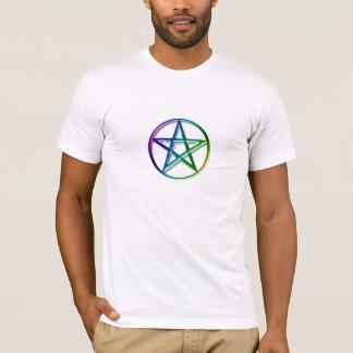 Powerful Pagan Pentacle Design T-Shirt