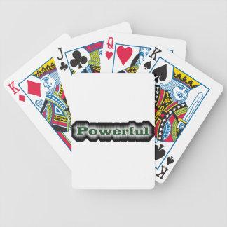 Powerful Poker Deck