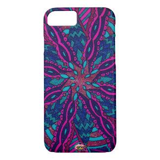 Powerful Purple mandala iPhone 8/7 Case