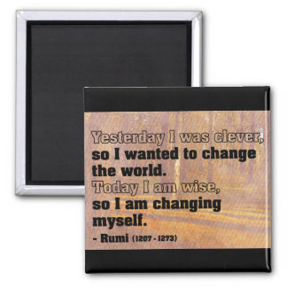 Powerful Quote on Change Magnet