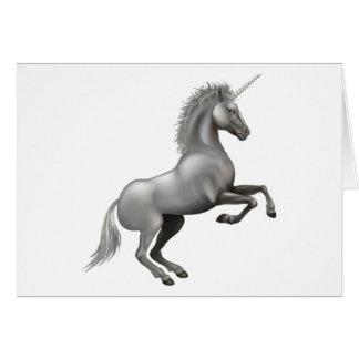 Powerful Unicorn illustration Greeting Card
