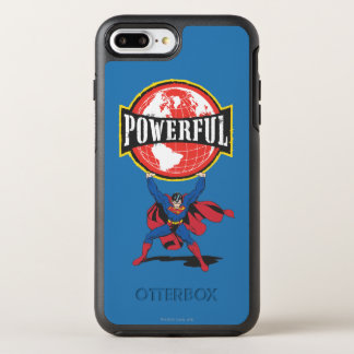 Powerful World Superman OtterBox Symmetry iPhone 7 Plus Case