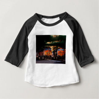 Powerfull locomotives ready to haul baby T-Shirt